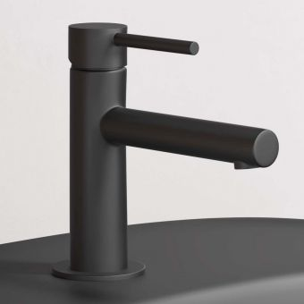 VitrA Origin Matt Black Basin Mixer