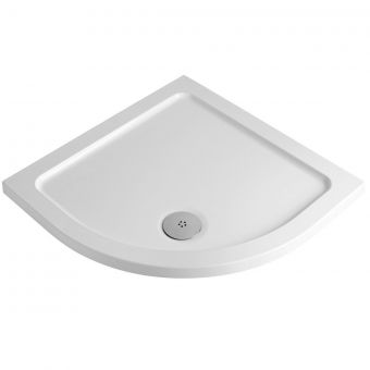 UK Bathrooms Essentials Quadrant Shower Tray