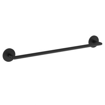 VitrA Origin Matt Black 45cm Towel Rail