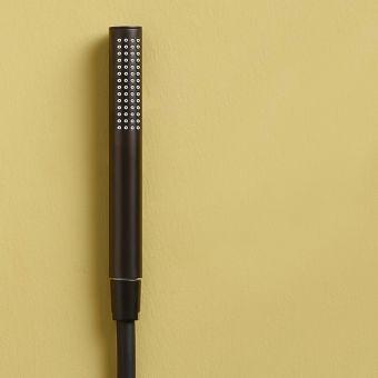 VitrA Origin Matt Black Shower Handset - 4554336