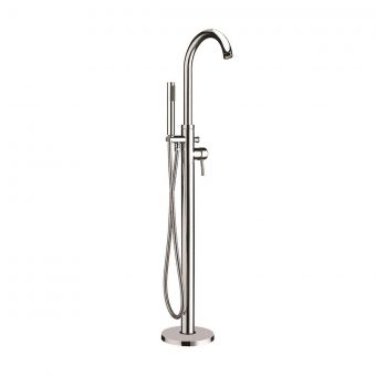 UK Bathrooms Essentials Holden Floorstanding Bath Mixer Tap with Shower Handset