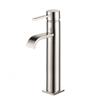 UK Bathrooms Essentials Connell Tall Basin Mixer Tap
