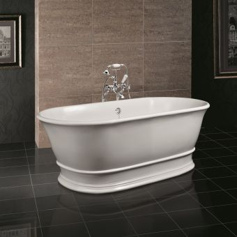 BC Designs Bampton Traditional Style Freestanding Cian Bath