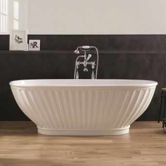 BC Designs Casini Traditional Style Freestanding Cian Bath