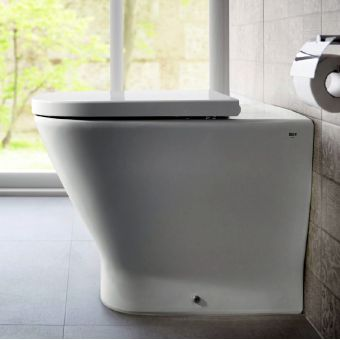 Roca The Gap Comfort Height Back to Wall Toilet