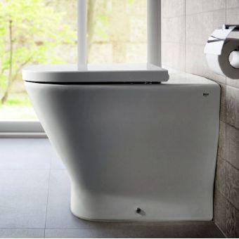 Roca The Gap Comfort Height Back to Wall Toilet - 34747C00U