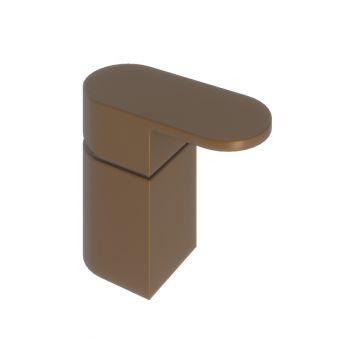 Abacus Ki Brushed Bronze Deck Mounted Single Lever Mixer - TBTS-058-3201