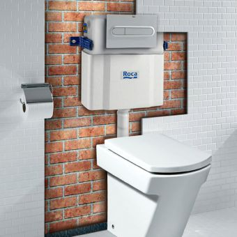 Roca Concealed Cistern for Back to Wall Toilets