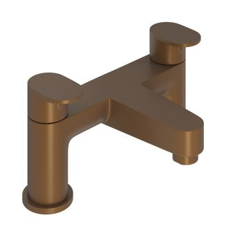Abacus Ki Brushed Bronze Deck mounted Bath Filler
