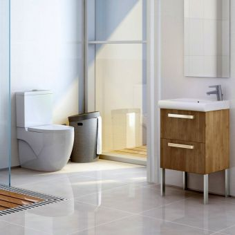 Roca Meridian-N Compact Close Coupled Toilet