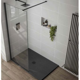 April Prestige Frameless 10mm Wetroom Shower Panel
