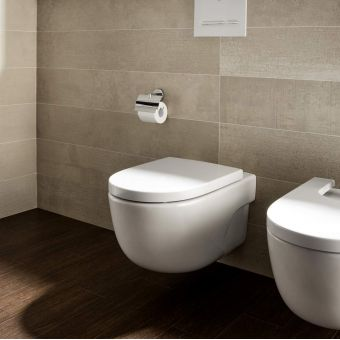Roca Meridian-N Compact Rimless Wall Hung Toilet