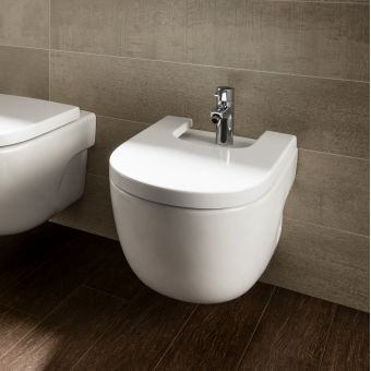 Roca Meridian-N Wall Hung Bidet with Hidden Fixings