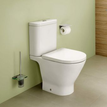 Roca The Gap Rimless Close Coupled Toilet