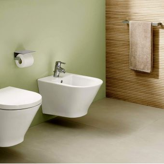 Roca The Gap Wall Hung Bidet with Hidden Fixings