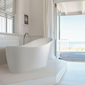 BC Designs Slipp Freestanding Acrymite Bath
