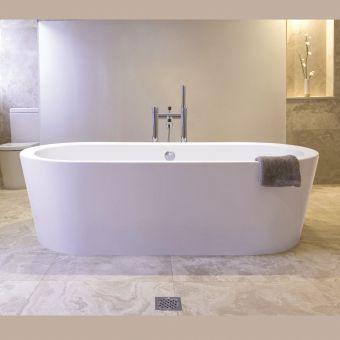 BC Designs Plazia Freestanding Acrymite Bath
