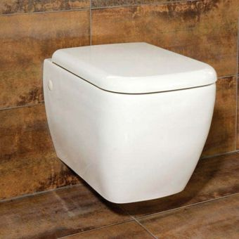 RAK Metropolitan Wall Hung Toilet with Seat