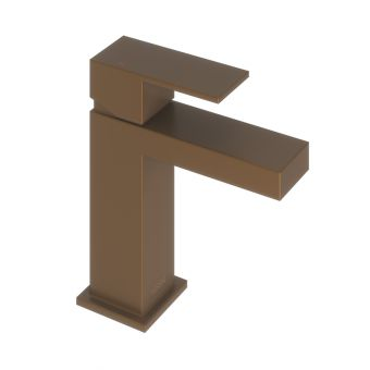 Abacus Plan Brushed Bronze Mono Basin mixer