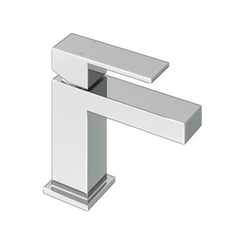 Abacus Plan Chome Mini Mono Basin Mixer Tap