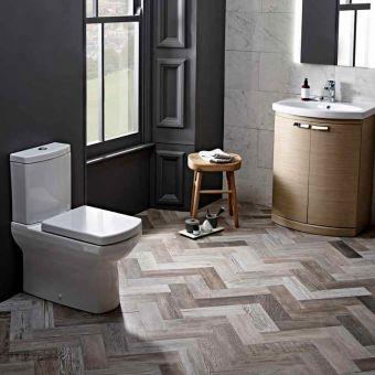Tavistock Vibe Flush Fitting Close Coupled Toilet - PF700XS