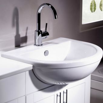 Tavistock Micra Semi-Countertop Wash Basin