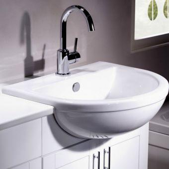 Tavistock Micra Semi-Countertop Wash Basin - M3SCBAS