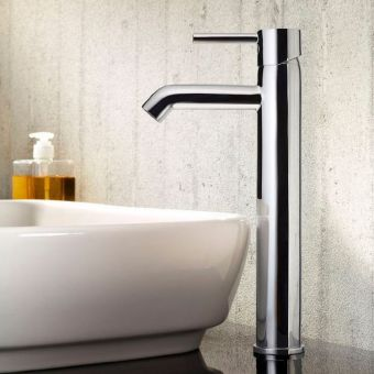 VitrA Minimax S Tall Monobloc Basin Mixer Tap Without Waste