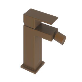 Abacus Plan Brushed Bronze Mono Bidet Mixer Tap - TBTS-268-2202