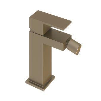 Abacus Plan Brushed Nickel Mono Bidet Mixer