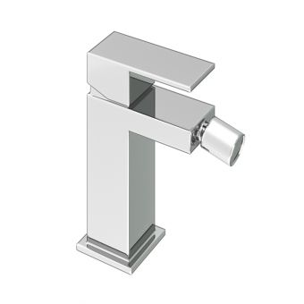 Abacus Plan Chrome Mono Bidet Mixer