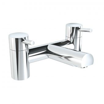 VitrA Minimax S Chrome 2-Tap Hole Bath Filler