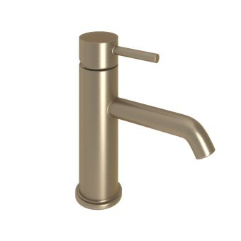 Abacus Iso Brushed Nickel Mono Basin Mixer Tap