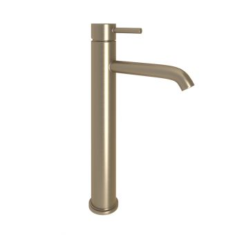 Abacus Iso Brushed Nickel Tall Mono Basin Mixer Tap