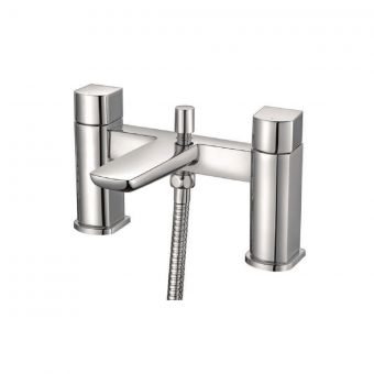 UK Bathrooms Essentials Stansfield Bath Shower Mixer Tap