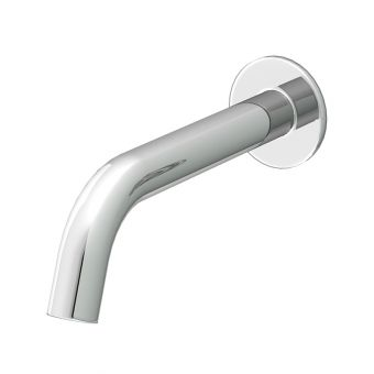 Abacus Iso Chrome Wall Mounted Bath Spout