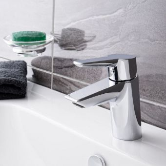 VitrA Solid S Chrome Monobloc Basin Mixer Tap