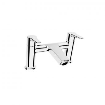 VitrA Solid S Chrome 2-Tap Hole Bath Filler