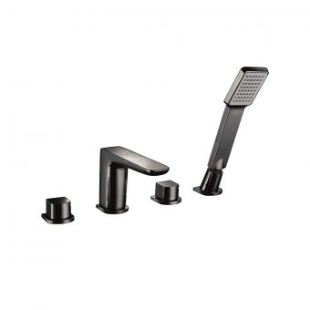 UK Bathrooms Essentials Kirkby 4 Hole Bath Mixer Tap