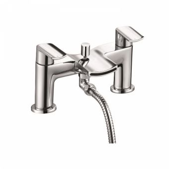 UK Bathrooms Essentials Warhol Bath Shower Mixer