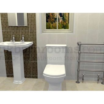 Rome Basin, Toilet & Taps Suite