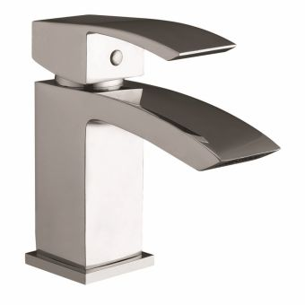 UK Bathrooms Essentials Lansley Basin Mixer Tap