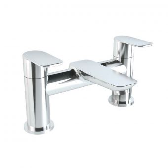 VitrA X Line Chrome 2 Tap Hole Bath Filler