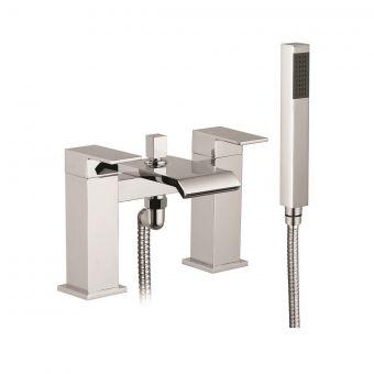 UK Bathrooms Essentials Greystone Bath Shower Mixer Tap - UKBEST00157