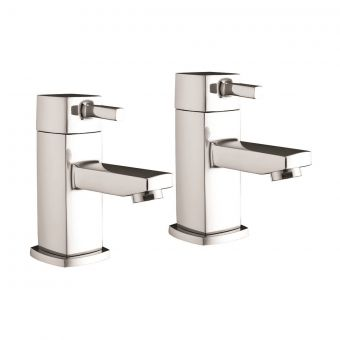 UK Bathrooms Essentials Miro Basin Taps