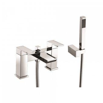 UK Bathrooms Essentials Hollis Bath Shower Mixer Tap - UKBEST00064