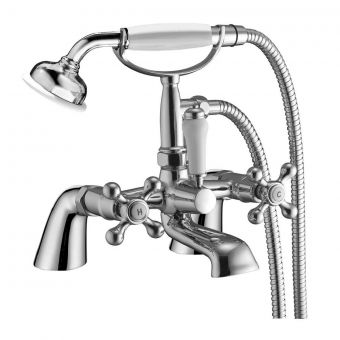 UK Bathrooms Essentials Chagall Bath Shower Mixer Tap