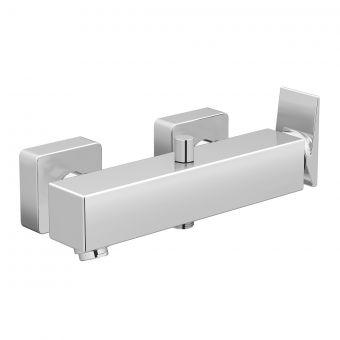 VitrA Brava Chrome Bath Shower Mixer Tap with Hose and Handset