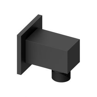 Abacus Emotion Matt Black Square Wall Outlet