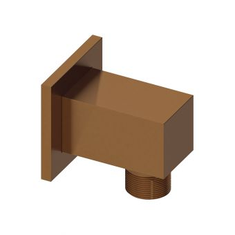 Abacus Emotion Brushed Bronze Square Wall Outlet